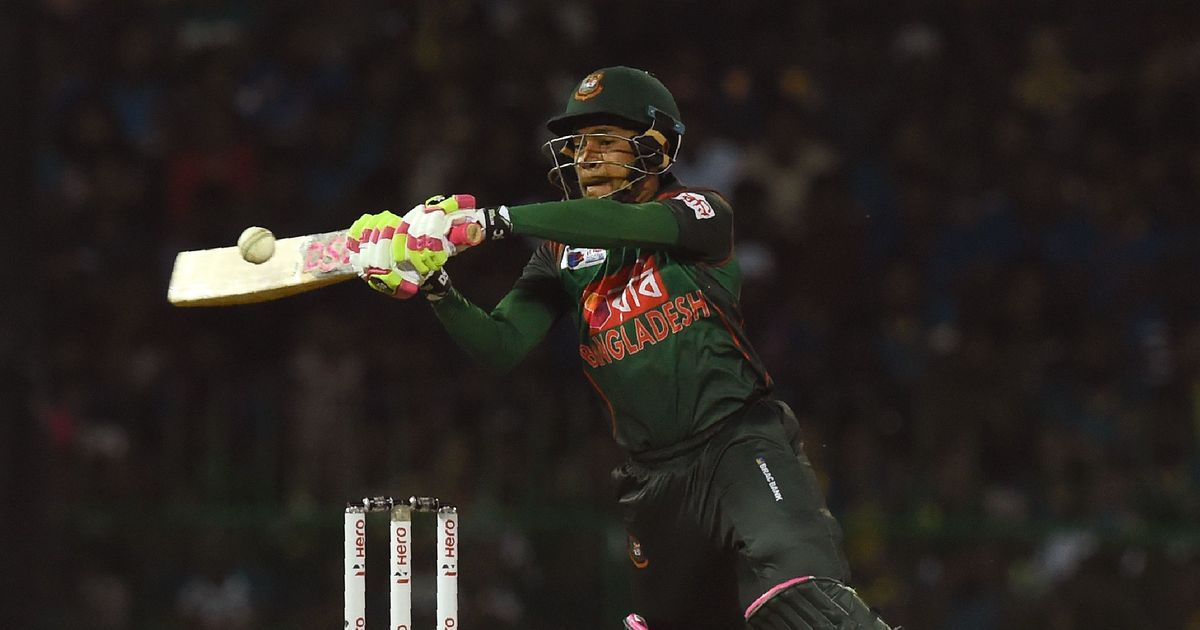 Mushfiqur Rahim's 35-ball 72 helps Bangladesh pull off stunning win over Sri Lanka