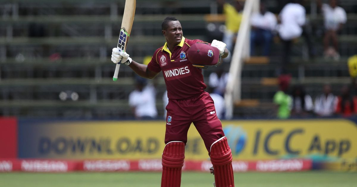 World Cup Qualifiers: Rovman Powell's first ODI ton helps West Indies see off Ireland