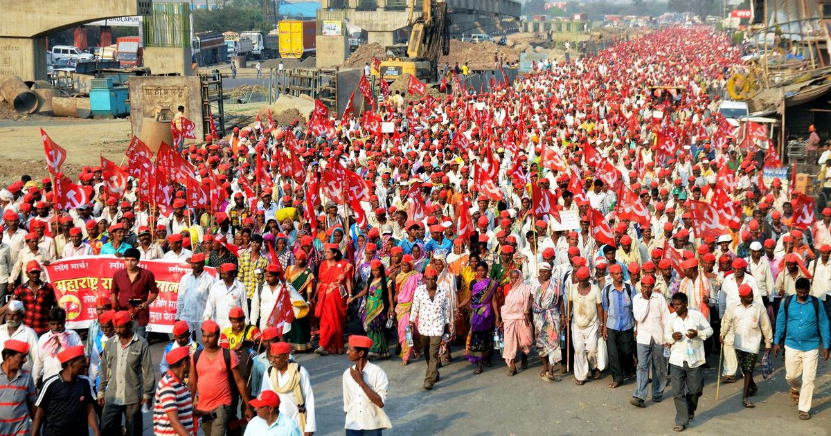 Farmers from Nashik reach Mumbai, to protest outside Maharashtra Assembly from Monday