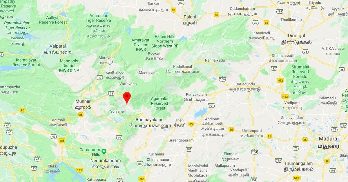 Over 20 students caught in forest fire in Theni