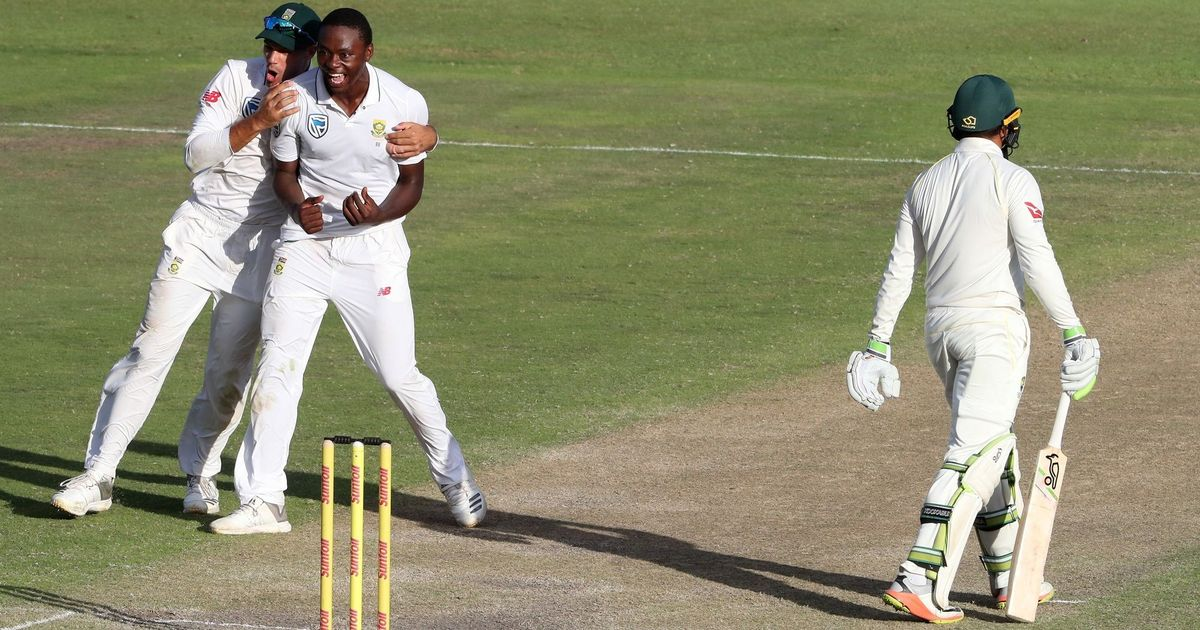 De Villiers's fighting century, Rabada's wickets give South Africa the edge on day three