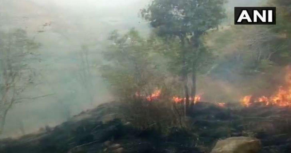 तमिलनाडु : जंगल में आग लगने से 37 ट्रेकर फंसे