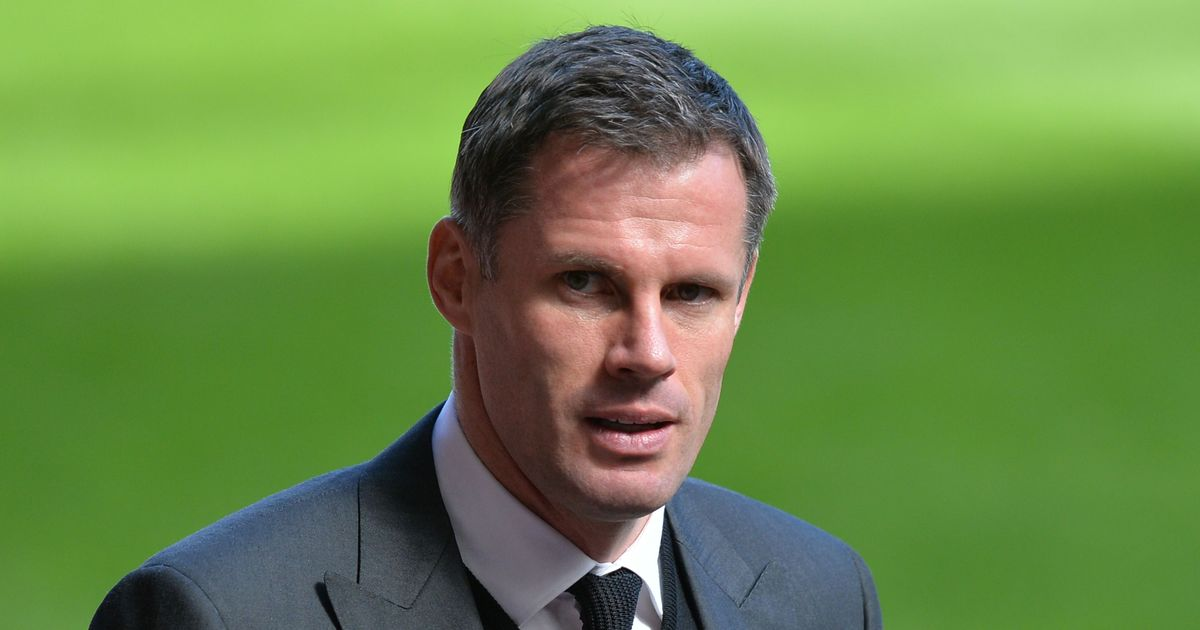 Jamie Carragher Spits At Taunting Man United Fan & Family