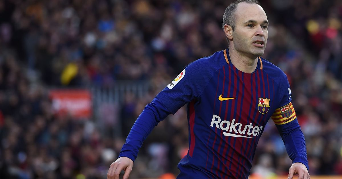 Barcelona captain Iniesta back in training ahead of Chelsea Champions League clash