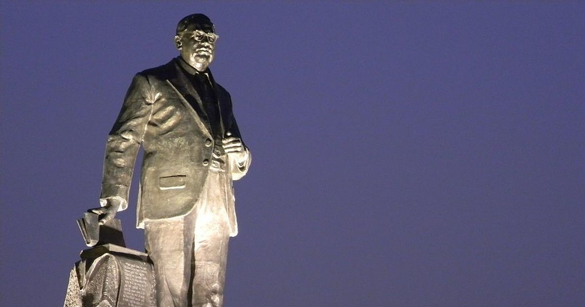 Hyderabad: Broken statue of Ambedkar found in dumping yard, investigation ordered