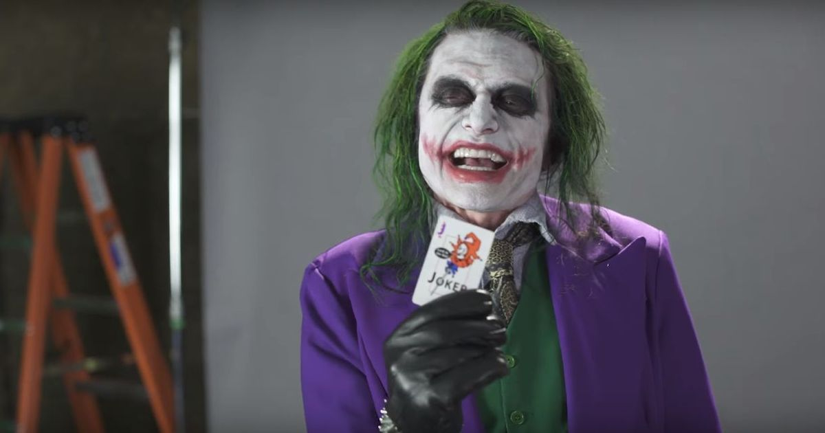 Watch: Tommy Wiseau plays the iconic villain Joker in an audition tape