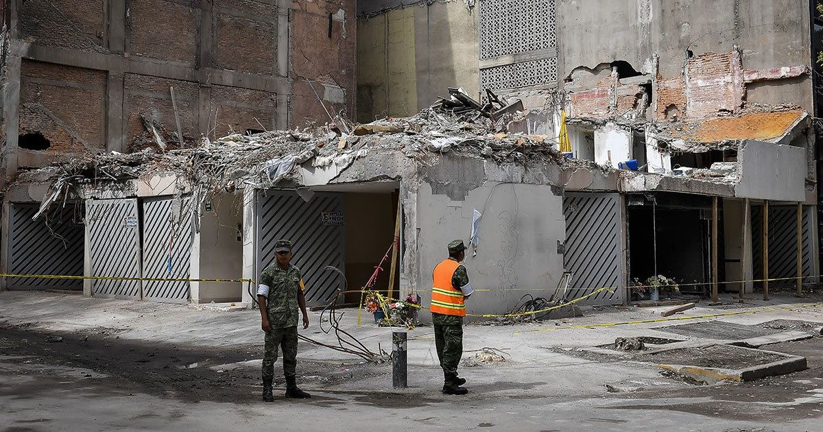 September 2017 Mexico City earthquake was a rare 'bending' kind – and it could happen again
