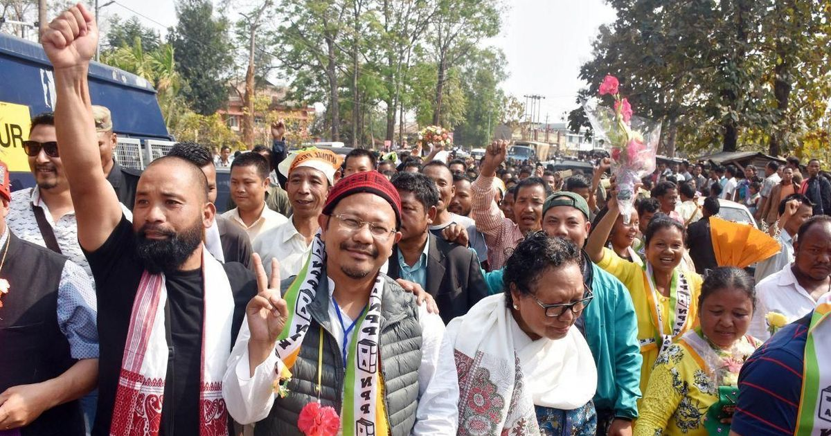 'This is the beginning of the end of militancy,' says Meghalaya minister after rebels surrender