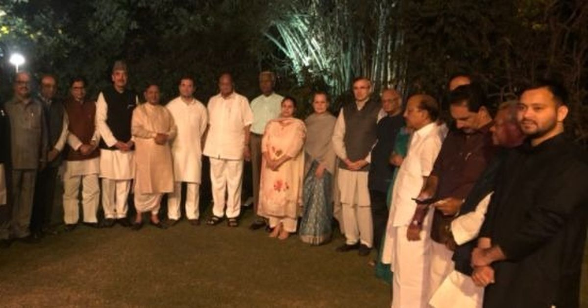 Sonia's dinner pe charcha a hit; 20 parties attend