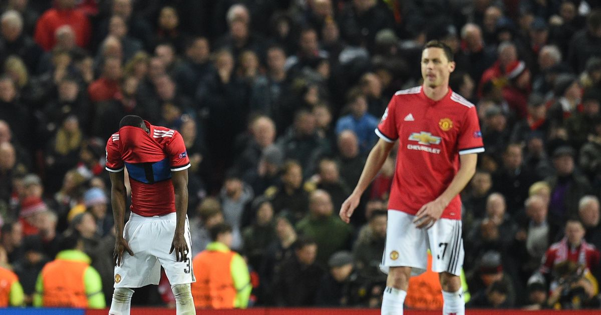 Awful performance sees Man United being knocked out of the Champions League by Sevilla