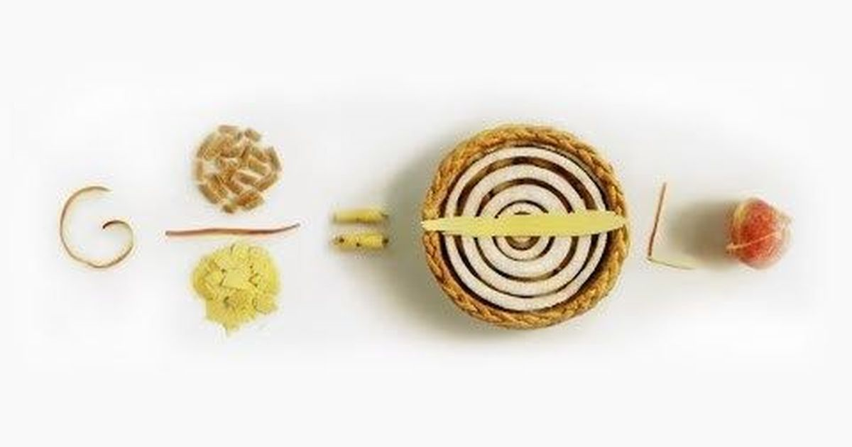 Google celebrated Pi Day with special Doodle