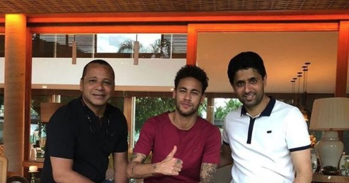 Amid exit rumours, injured Neymar gets visit from PSG president