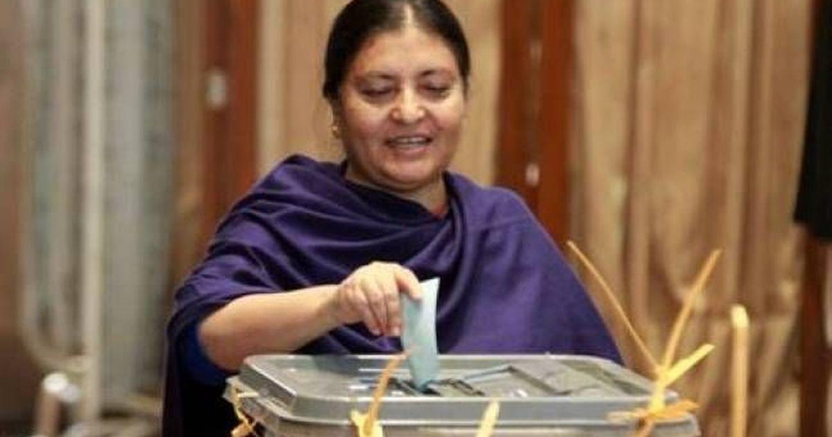 विद्या देवी भंडारी लगातार दूसरी बार नेपाल की राष्ट्रपति चुनी गईं