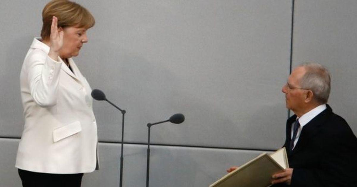 अंगेला मेर्कल लगातार चौथे कार्यकाल के लिए जर्मनी की चांसलर बनीं