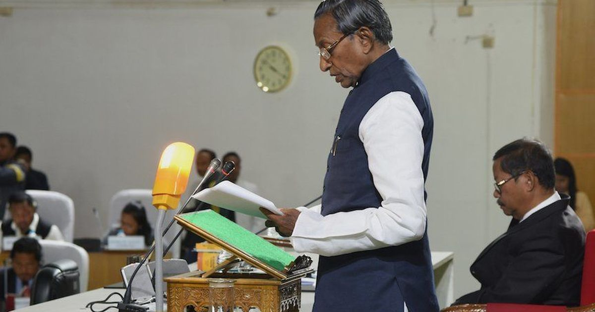 Congress criticises Meghalaya governor for delivering Assembly speech in Hindi
