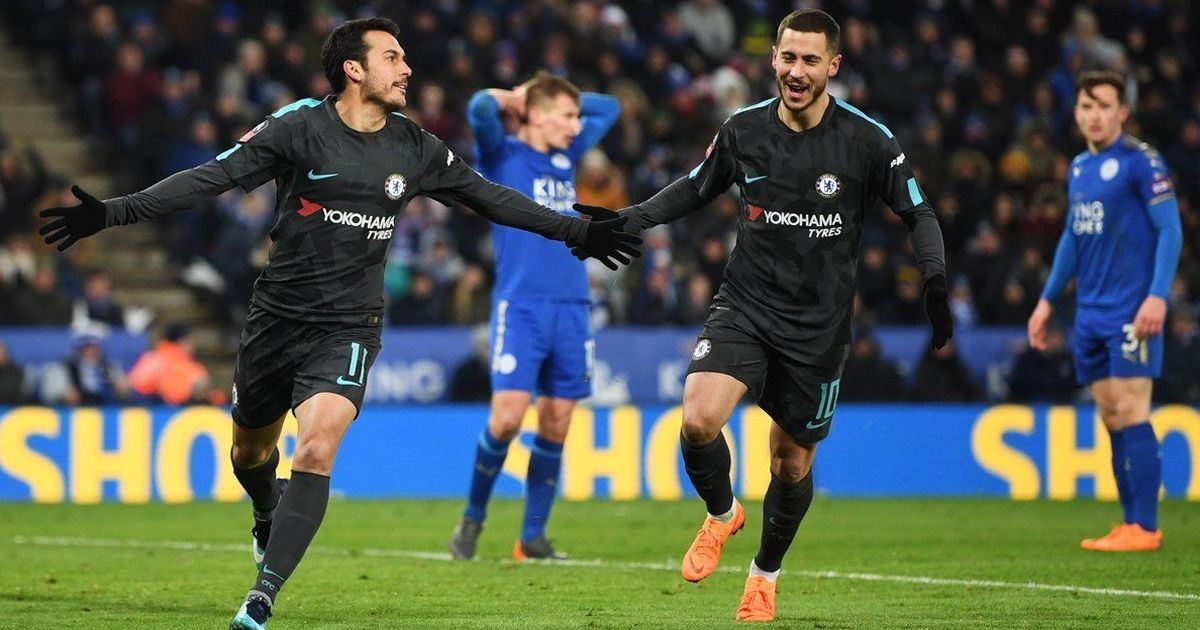 Chelsea strike late to advance to FA Cup semis