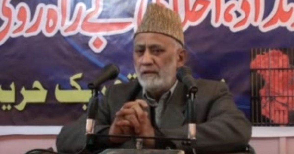 Hurriyat leader Syed Geelani resigns from Tehreek-e-Hurriyat chief's post
