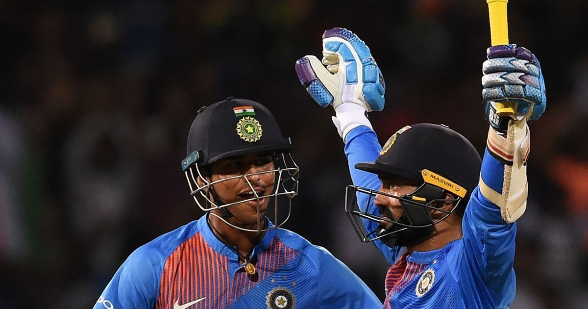 Karthik's last-ball six clinches tri-series for India