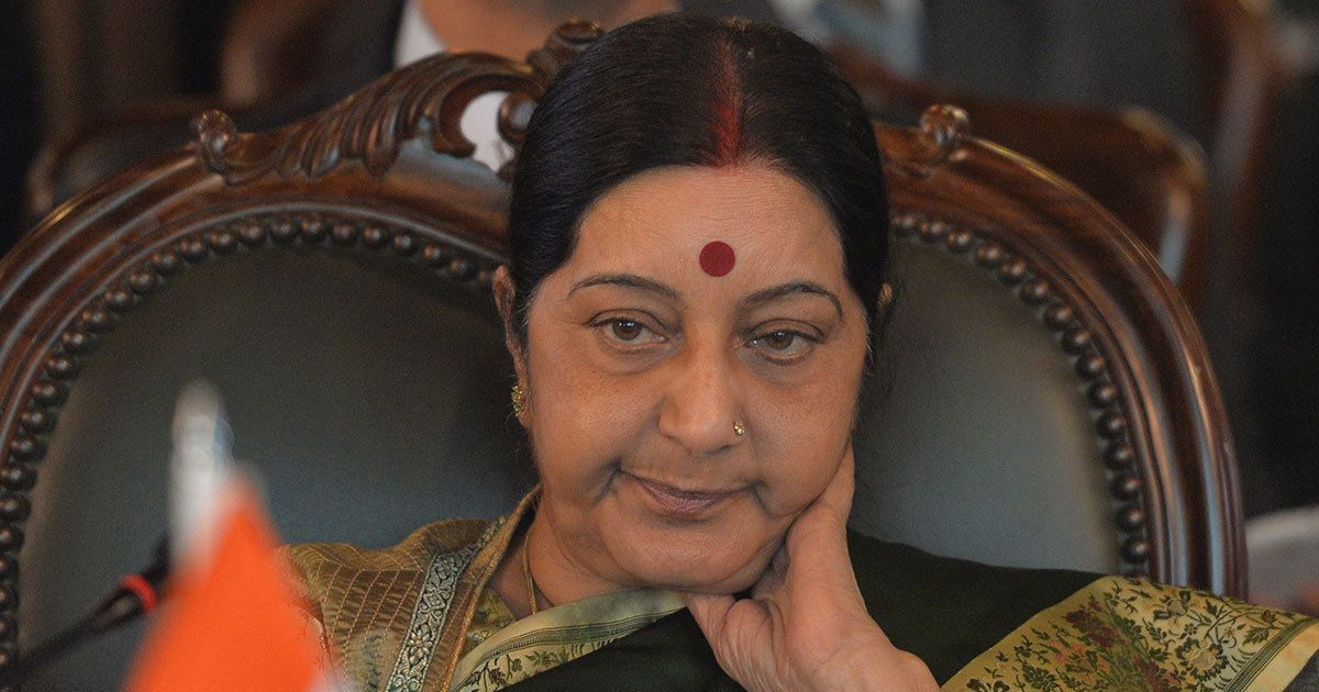 Sushma Swaraj trolled for helping Lucknow interfaith couple in passport row