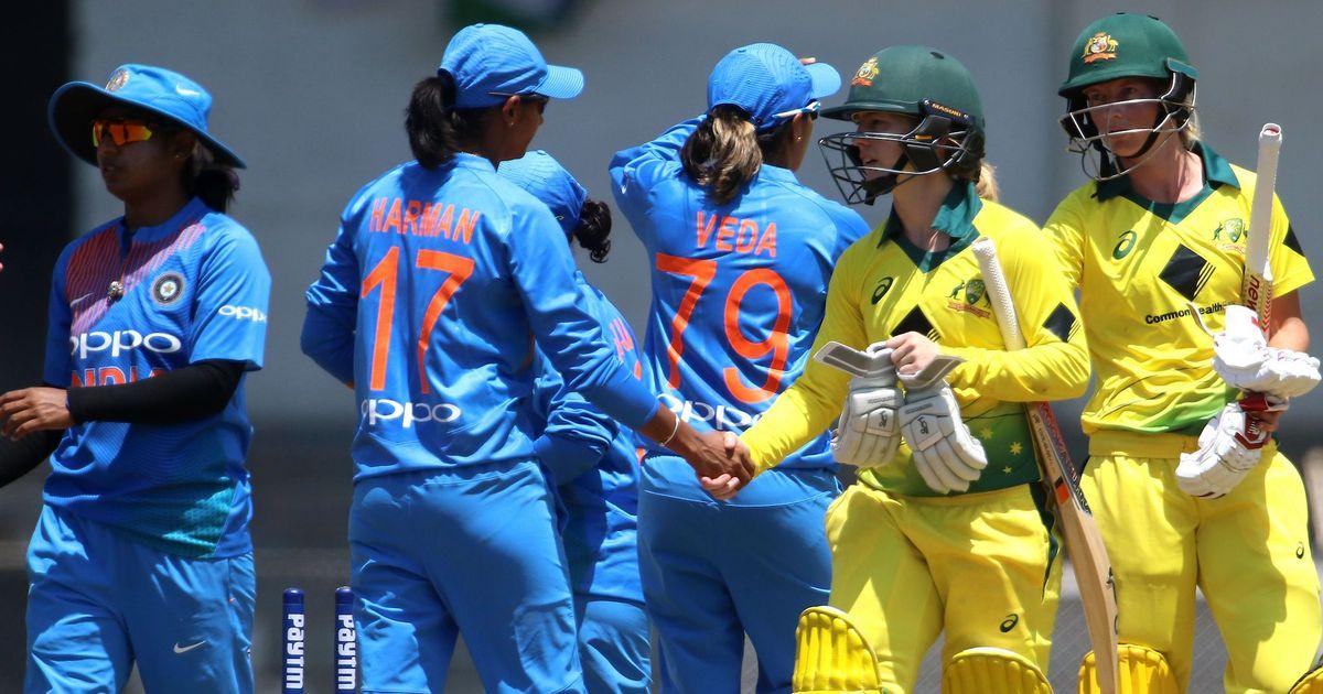 India slump to six-wicket defeat against Australia in women's tri-series opener