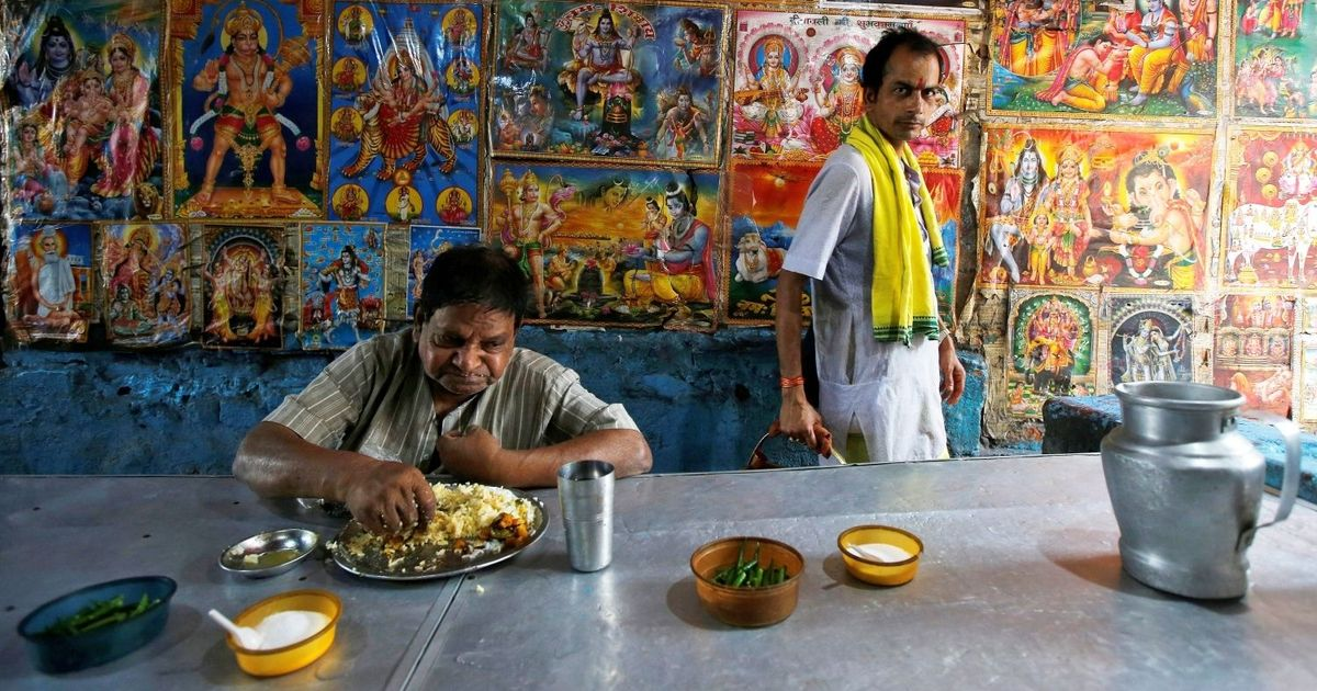 What makes Indian vegetarians different from Westerners who have given up meat?
