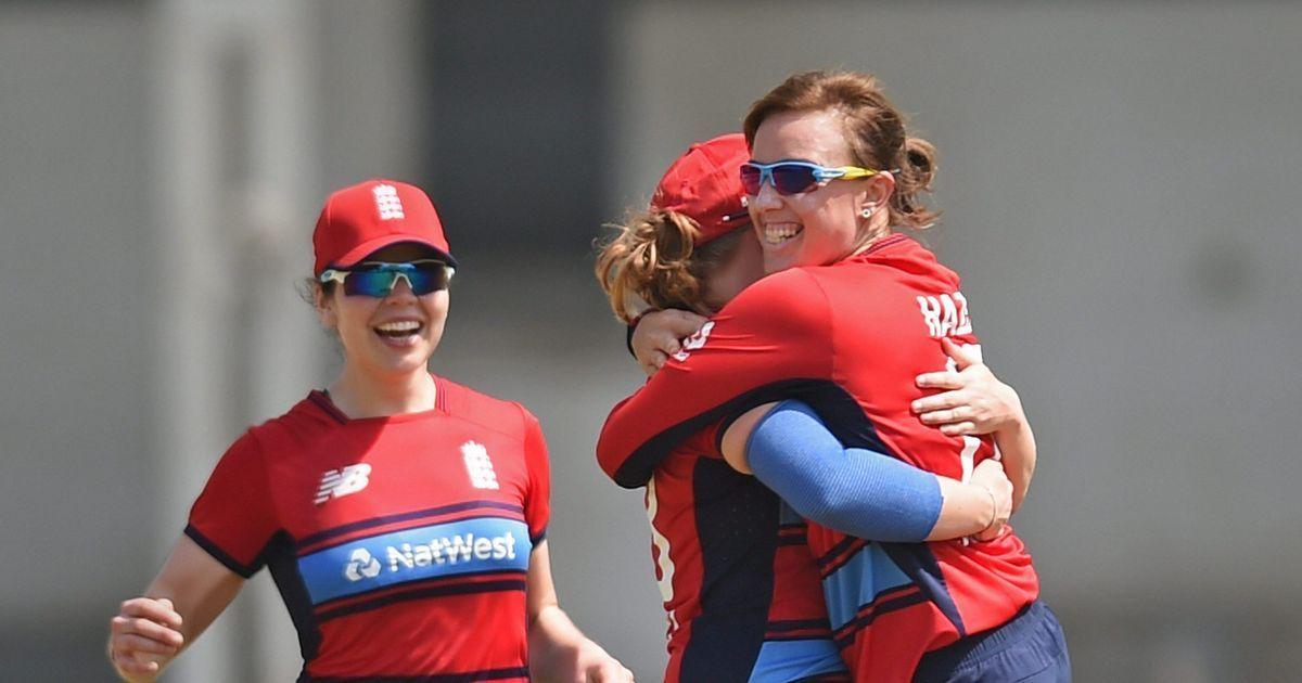 England thrash Australia by eight wickets in women's T20 tri-series