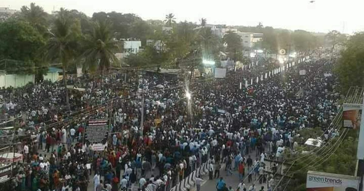 Tamil Nadu: Thousands protest against Sterlite Copper's plan to expand its plant in Thoothukudi