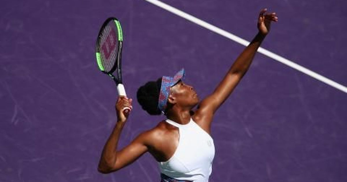 Wta Miami - Venus Williams wins a marathon match over Kiki Bertens