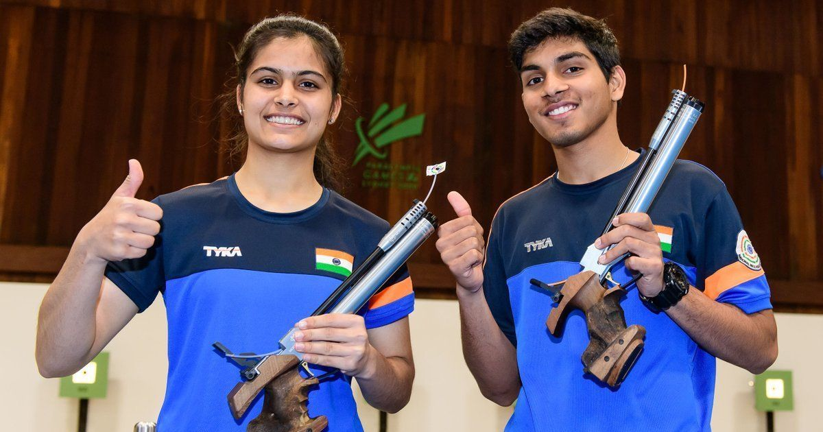 Image result for MANU BHAKER