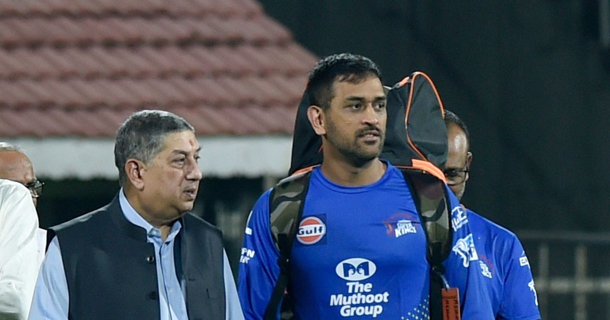 He'll spoil the team: CSK owner Srinivasan on why skipper Dhoni refused an 'outstanding player'