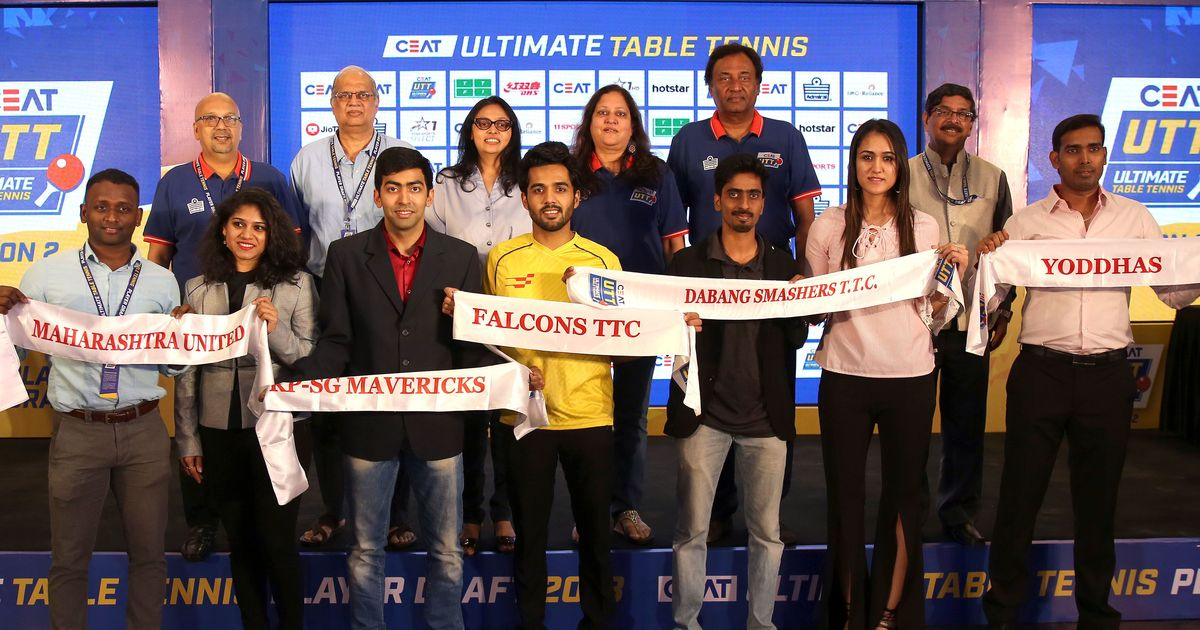 Ultimate Table Tennis: Here's all you need to know about the teams for the second season