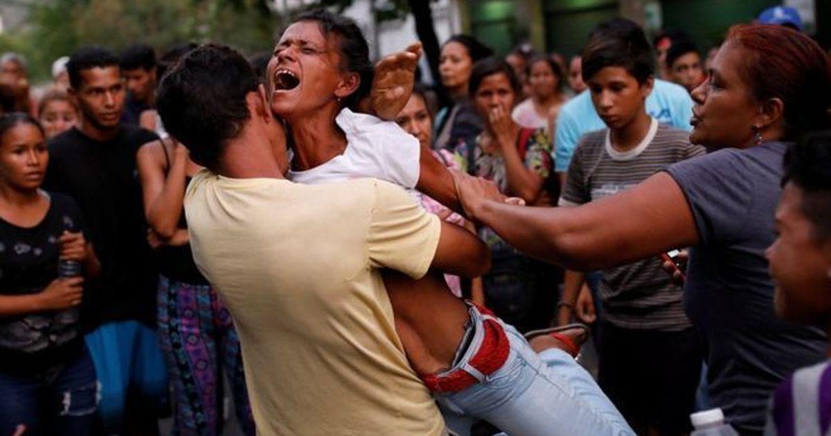 वेनेजुएला : जेल में आग लगने से 68 लोगों की मौत