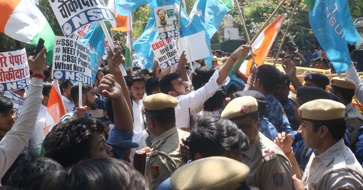 ABVP trounced in polls at Varanasi Sanskrit university, loses all four seats to NSUI