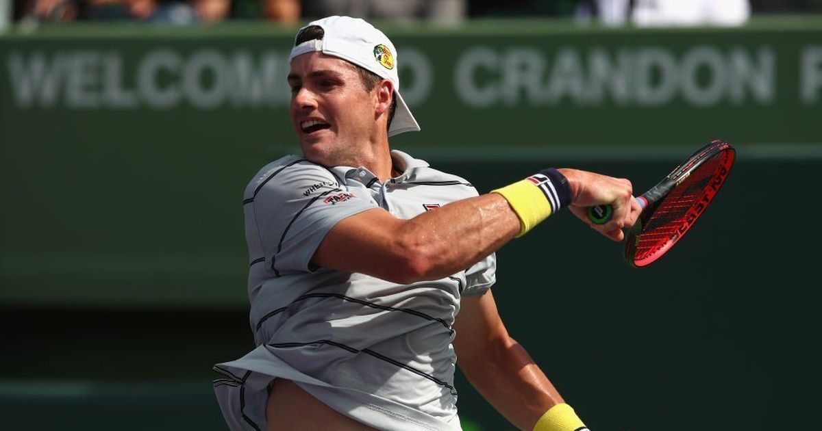 Tennis: John Isner reaches final of Newport tournament after hard-fought win