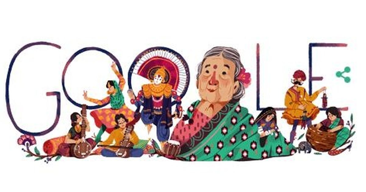 Google Doodle gives tribute to social reformer Kamaladevi Chattopadhyay