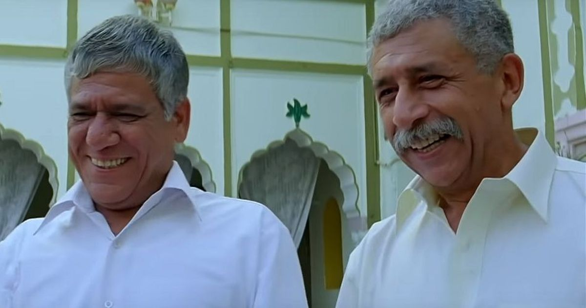 Do real-life friends make good co-stars? Yes, if they are Om Puri and Naseeruddin Shah