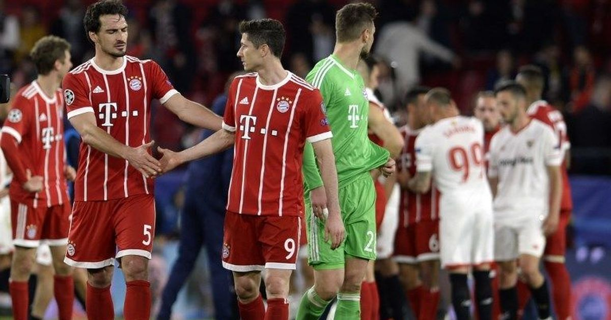 Bayern mistakes could prove costly in Sevilla return leg