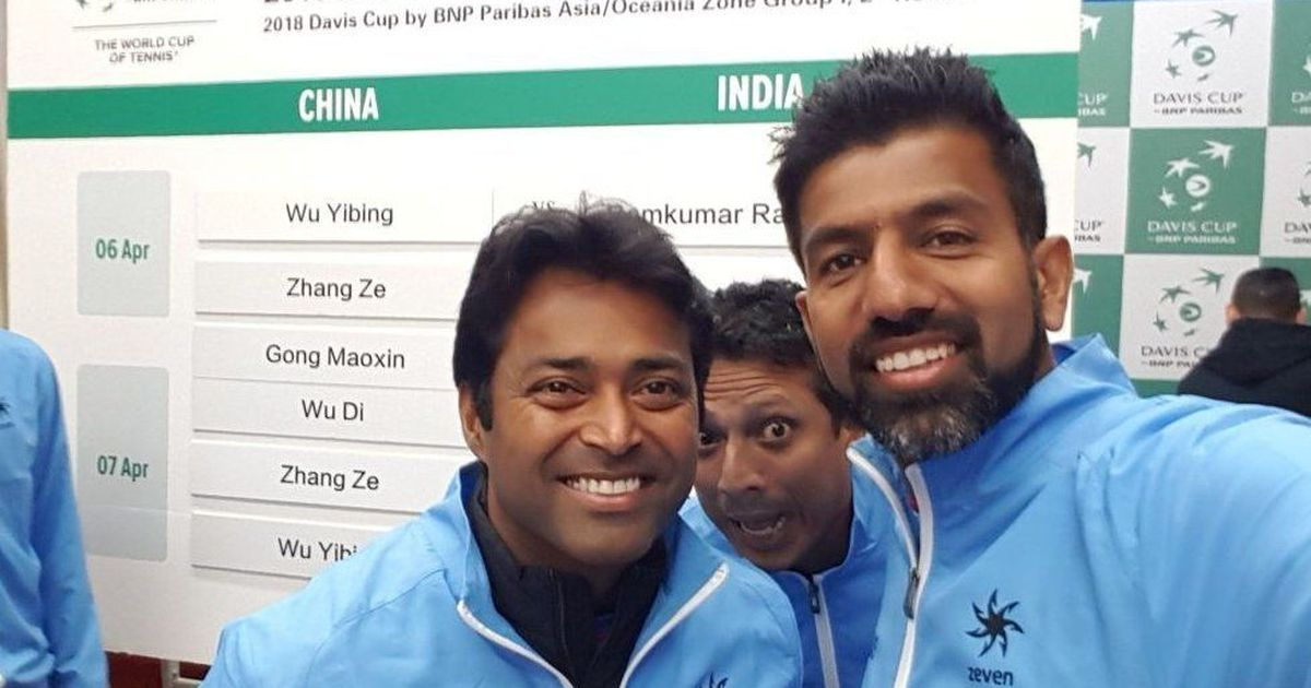 leander-paes-world-record-india-face-china-in-davi