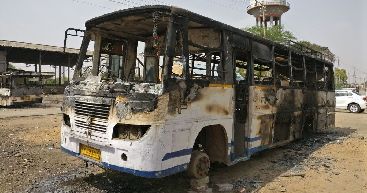 Ground report: How caste riots in Rajasthan's Hindaun city left homes of Dalit politicians in flames