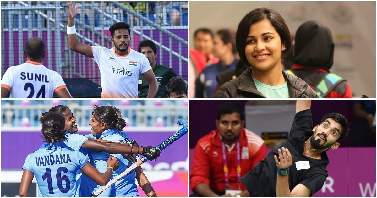 Manu Bhaker wins shooting gold, Heena Sidhu silver at 2018 Commonwealth Games
