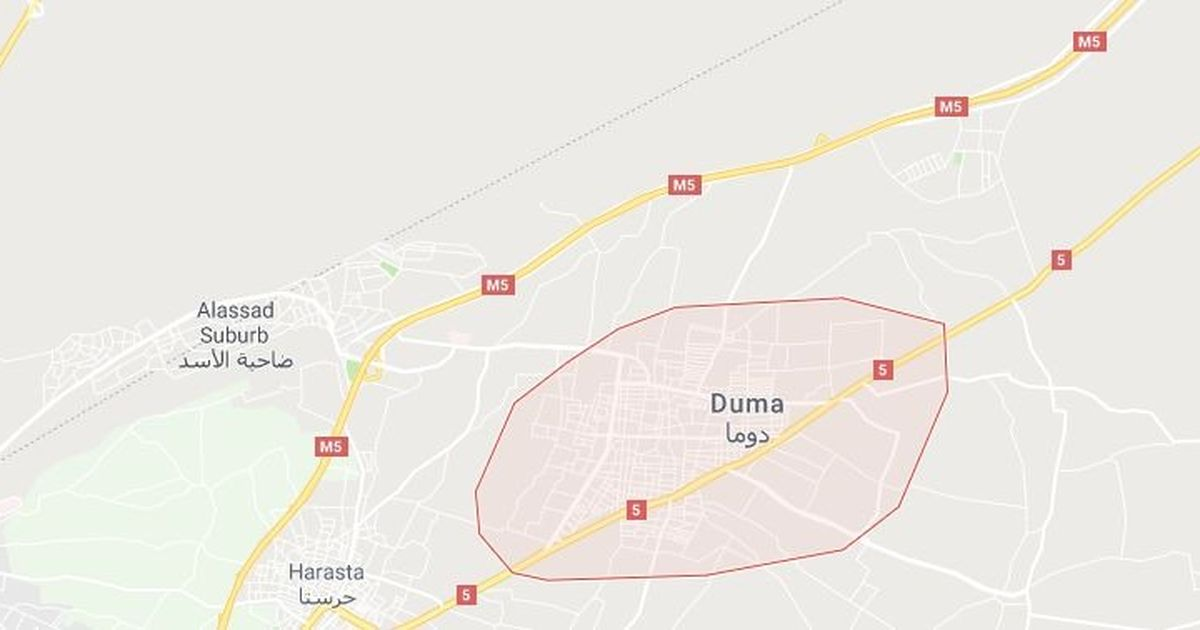 Syria: Several feared dead in possible chemical attack on rebel-held Douma town