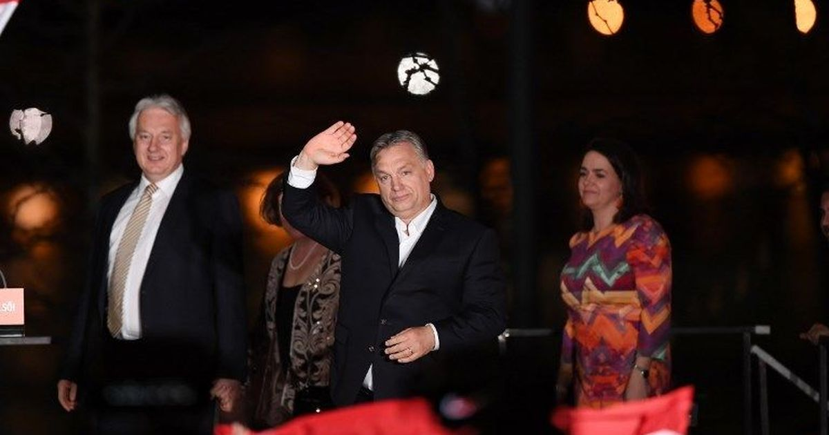 Hungary re-elects right-wing Prime Minister Viktor Orban for third time in a row