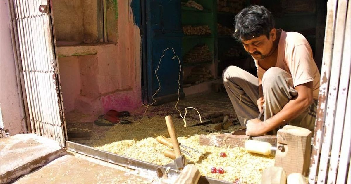 Toymakers of Chitrakoot struggle to craft a living as children increasingly switch to modern toys