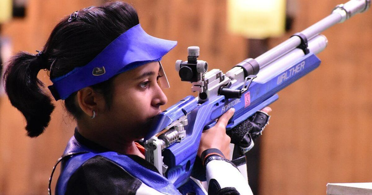 South Asian Games: Mehuli Ghosh unofficially betters world record, India dominate women's air rifle