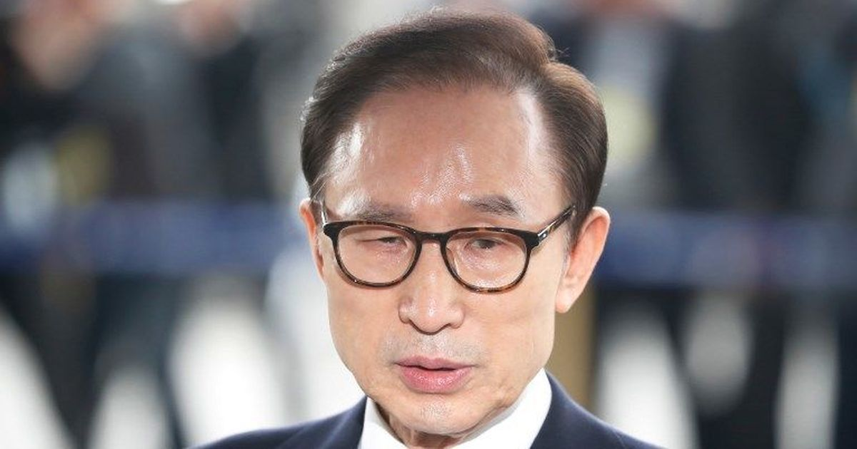 Former South Korea President Lee Myung-bak indicted for