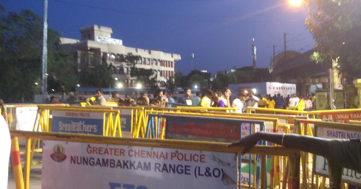 Dozens arrested as Cauvery protests continue outside Chennai's Chepauk stadium before IPL match