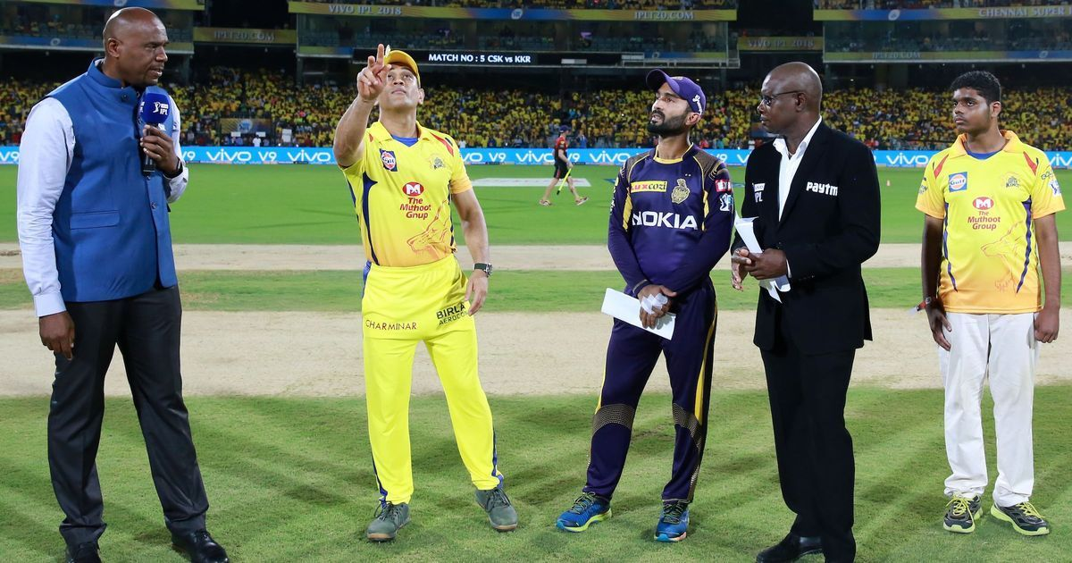 CSK lose to KKR by 6 wickets