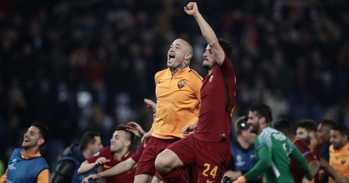 Roma dump Barcelona out of Champions League with stunning win