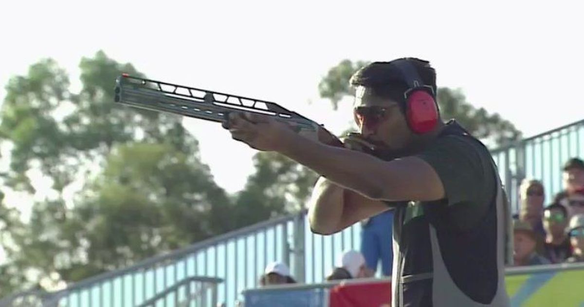 CWG 2018 Shooting: Ankur Mittal wins bronze in men's double trap