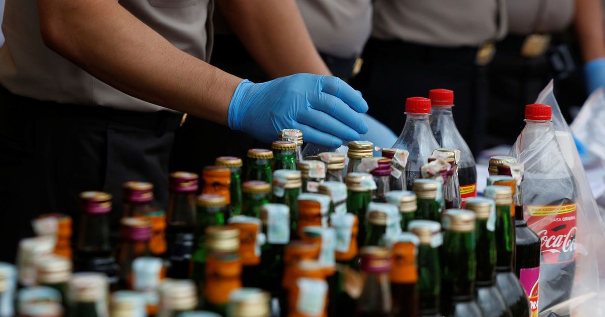 Adulterated alcohol kills 82 in Indonesia's Java island